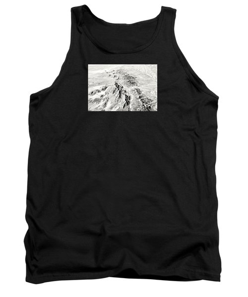 Arizona Desert In Black And White Tank Top