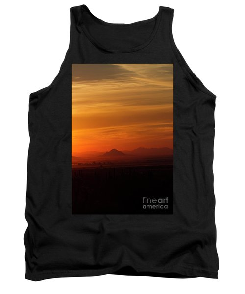 Tank Top featuring the photograph Arizona Sunrise by Anne Rodkin