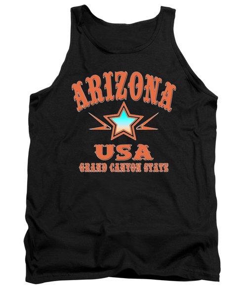 Arizona Grand Canyon State Design Tank Top