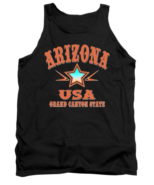 Arizona Grand Canyon State Design Tank Top