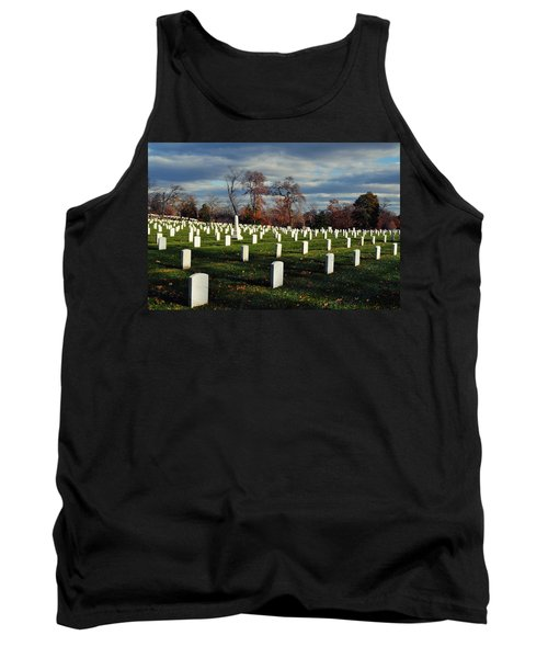 Arlington National Cemetery Landscape II Tank Top