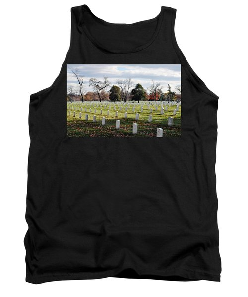 Arlington National Cemetery Landscape Tank Top
