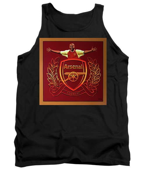 Arsenal London Painting Tank Top