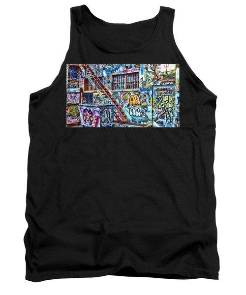 Art Alley 2 Tank Top