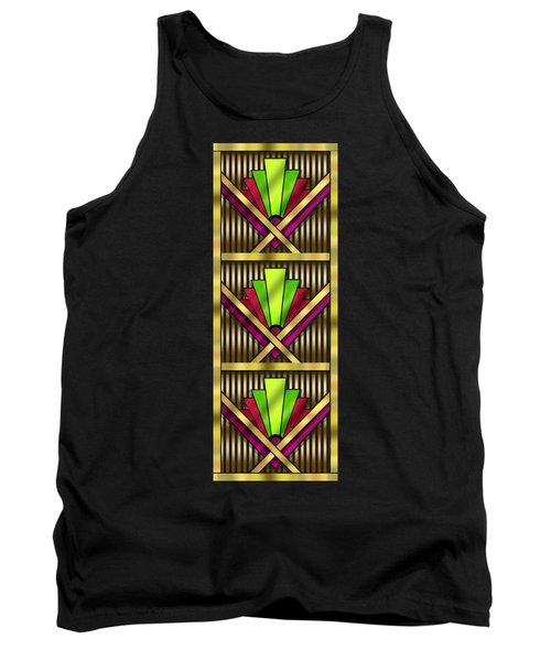 Art Deco 13 Tiles Tank Top