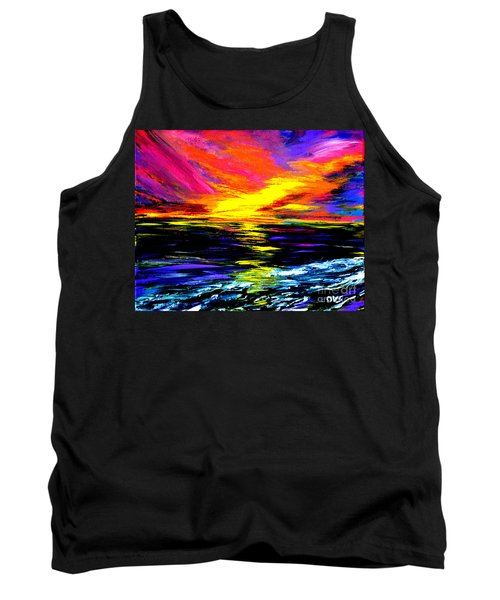Art For Health And Life. Painting 8. Splendid Tank Top