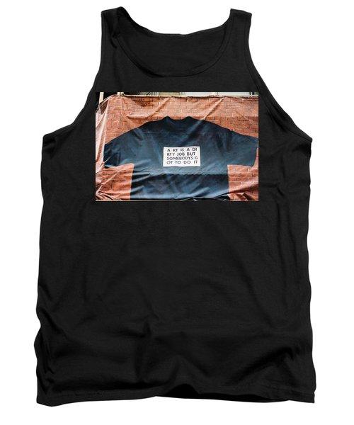 Art Shirt Tank Top