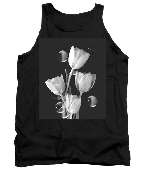 Artistic Tulip Bouquet 2  Tank Top
