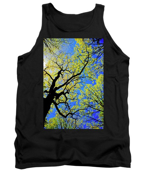 Artsy Tree Canopy Series, Early Spring - # 02 Tank Top