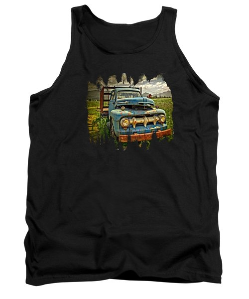 The Blue Classic Ford Truck Tank Top