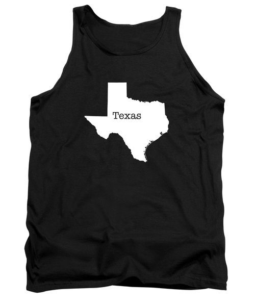 Texas State Tank Top by Bruce Stanfield