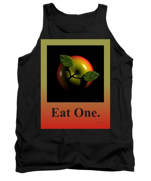 Eat One  Tank Top