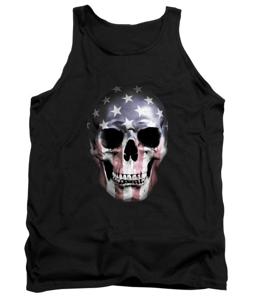 American Skull Tank Top