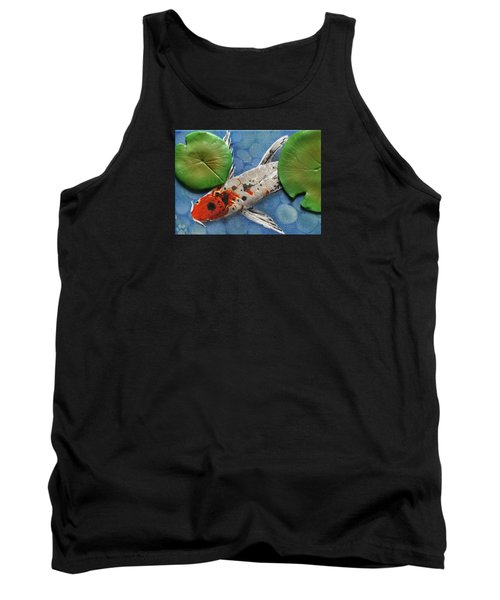 Hidden Koi Tank Top by Rhi Johnson