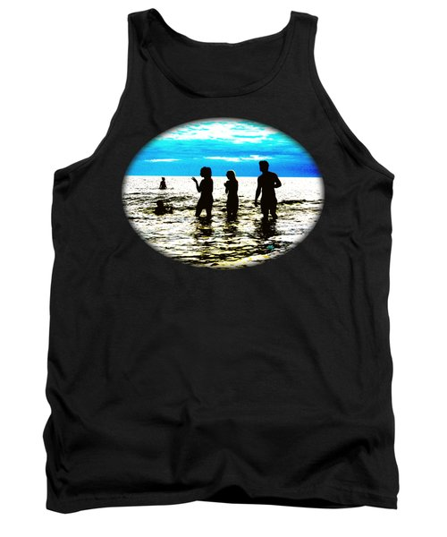 Hot Night At The Beach Tank Top
