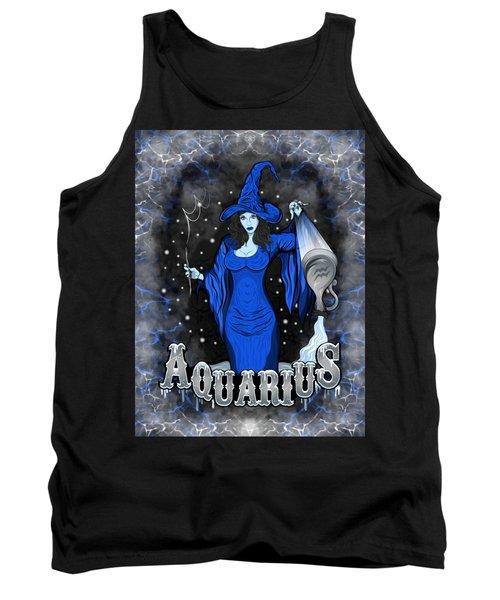 The Water Bearer Aquarius Spirit Tank Top