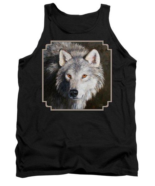 Wolf Portrait Tank Top