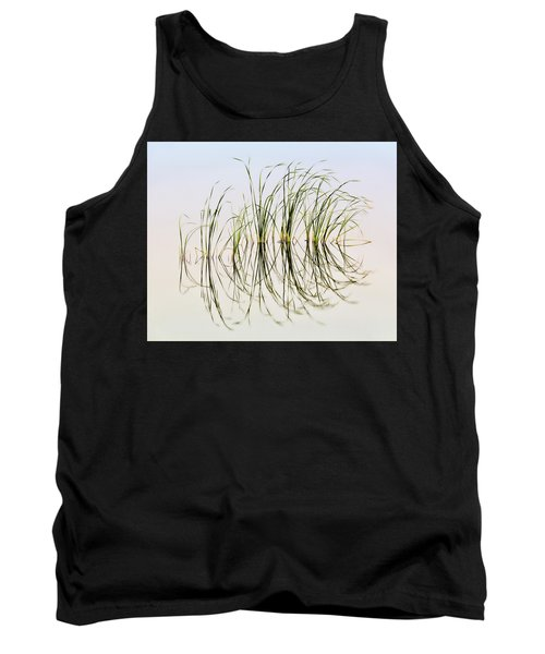 Tank Top featuring the photograph Graceful Grass by Bill Kesler