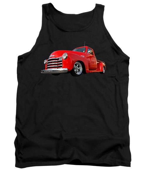 1952 Chevrolet Truck At The Diner Tank Top by Gill Billington