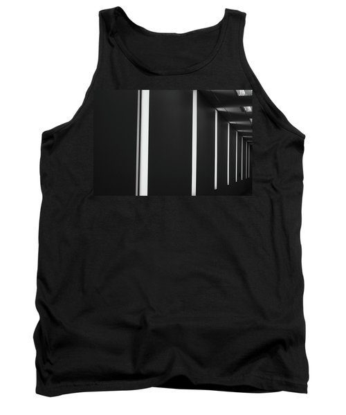 Asheville Abstract  Tank Top by Gray  Artus