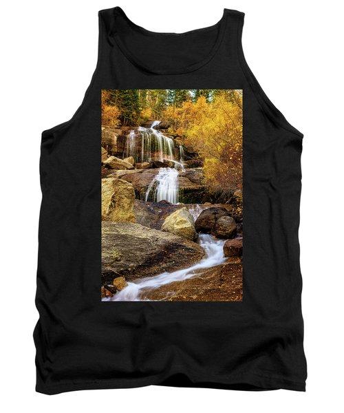 Aspen-lined Waterfalls Tank Top