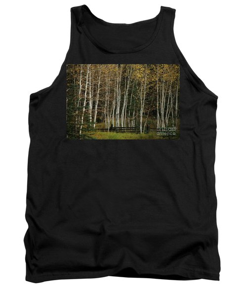 Aspens In The Fall Tank Top