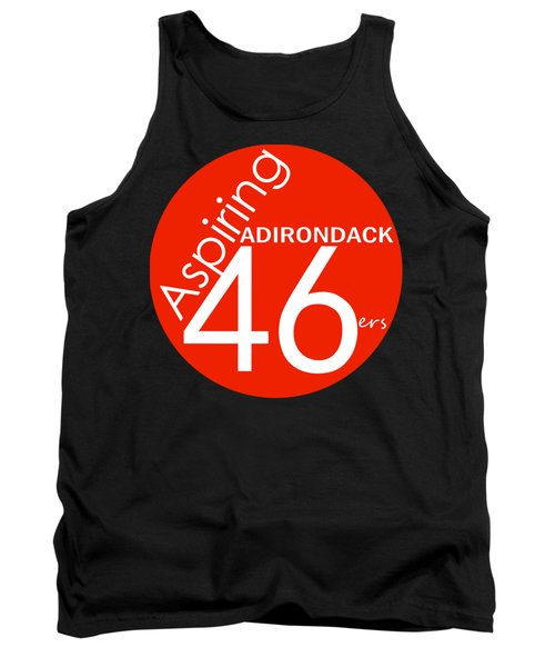 Aspiring Adirondack 46ers Trail Marker Tank Top by Michael French