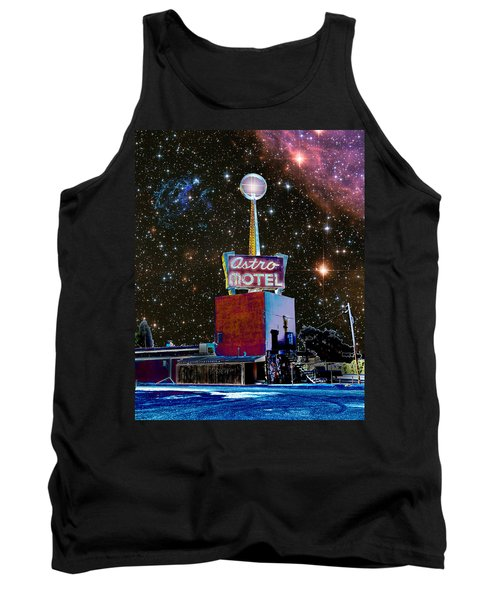 Tank Top featuring the photograph Astro Motel by Jim and Emily Bush