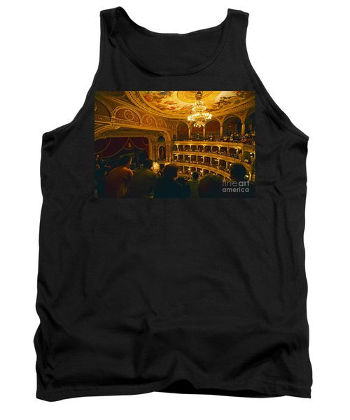 At The Budapest Opera House Tank Top by Madeline Ellis