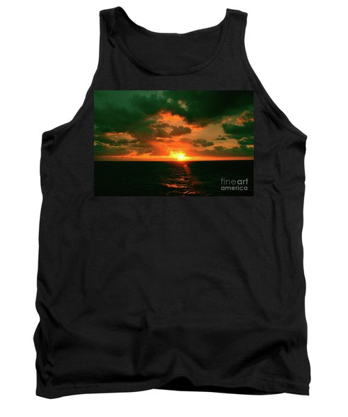 At The Edge Of Night Tank Top