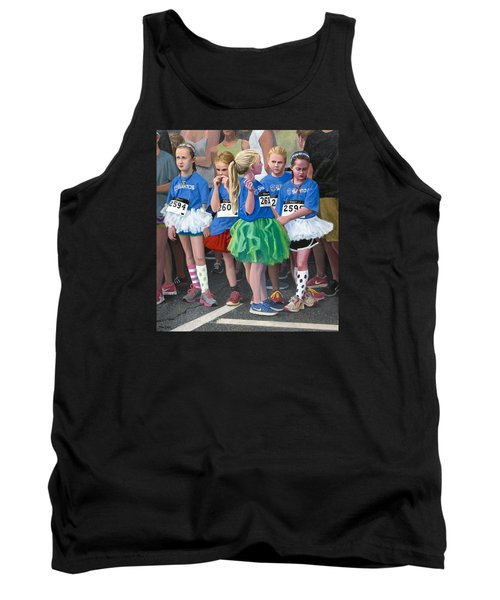 At The Start Of Their Run Tank Top
