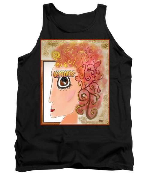 Athena In The Mirror Tank Top