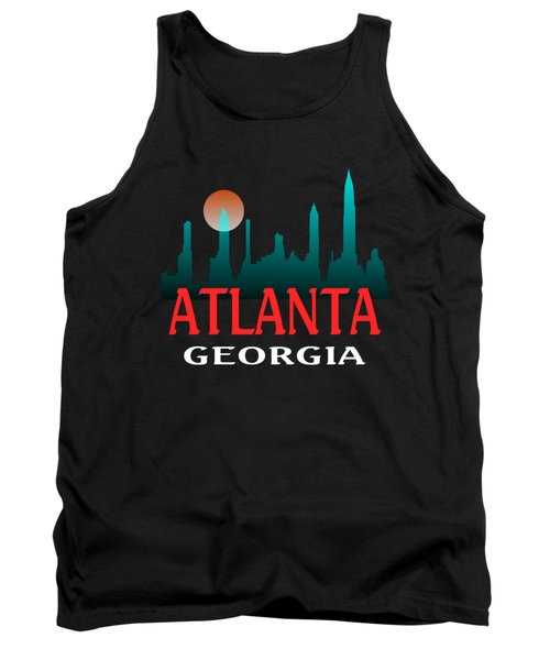 Atlanta Georgia Design Tank Top