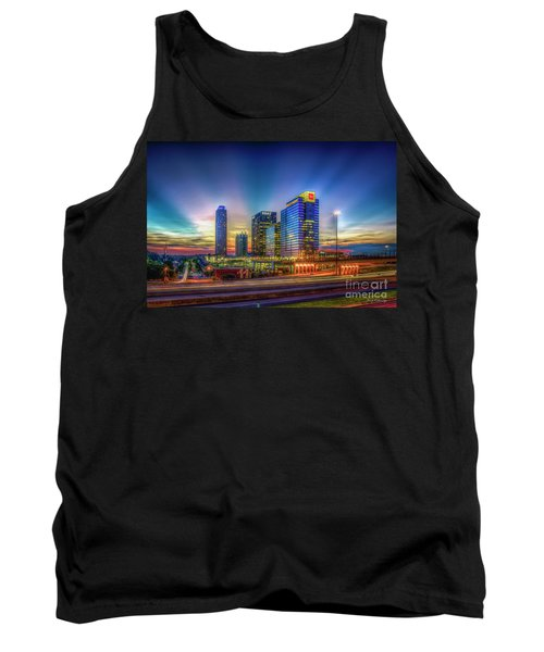 Atlanta Midtown Atlantic Station Starburst Atllanta Georgia Art Tank Top
