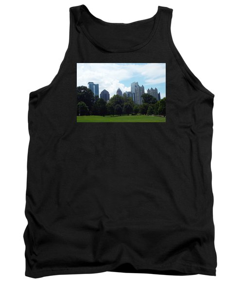 Atlanta Skyline Tank Top by Jake Hartz