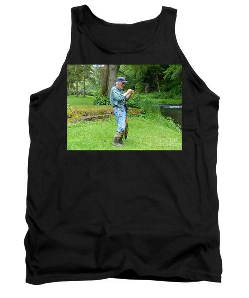 Attaching The Lure Tank Top