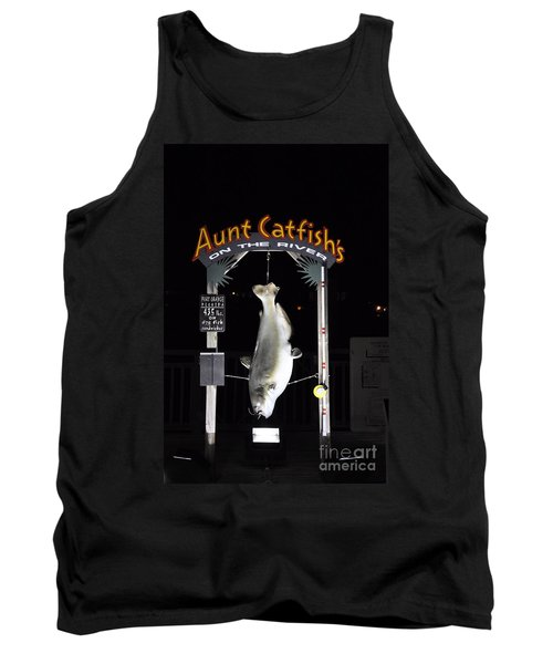 Tank Top featuring the photograph Aunt Catfish by John Black