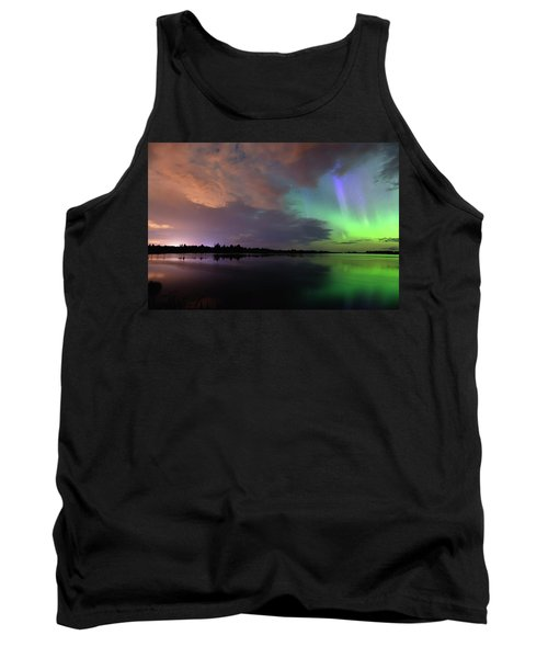 Aurora And Storm Clouds Tank Top