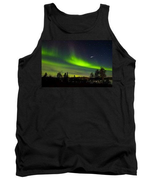 Aurora With Meteor  Tank Top