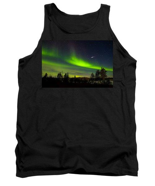 Aurora With Meteor  Tank Top by John McArthur