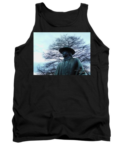 Austin Hike And Bike Trail - Iconic Austin Statue Stevie Ray Vaughn - Two Tank Top