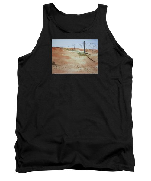 Australian Outback Track Tank Top