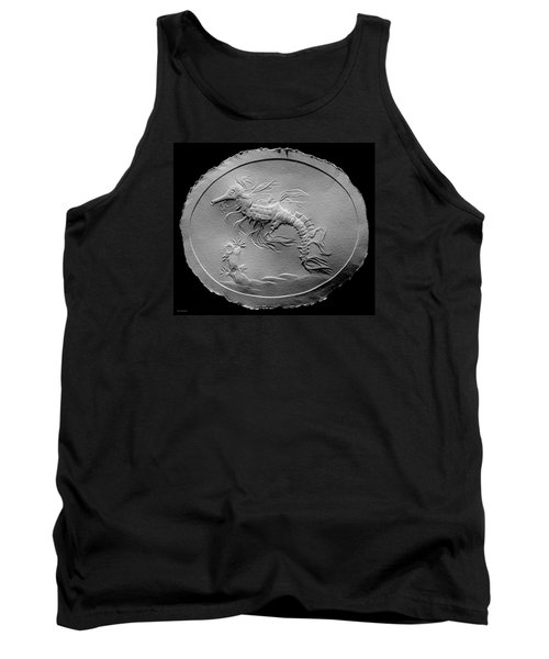 Tank Top featuring the relief Australian Reef Sea Horse by Suhas Tavkar