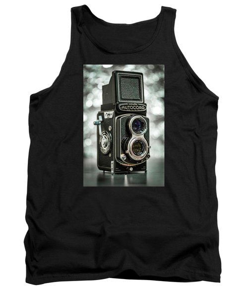 Tank Top featuring the photograph Autocord by Keith Hawley