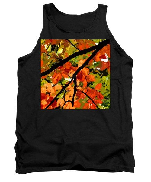 Autumn Ablaze Tank Top