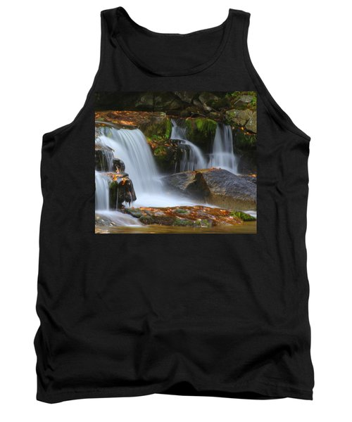 Autumn At Jackson Falls Tank Top
