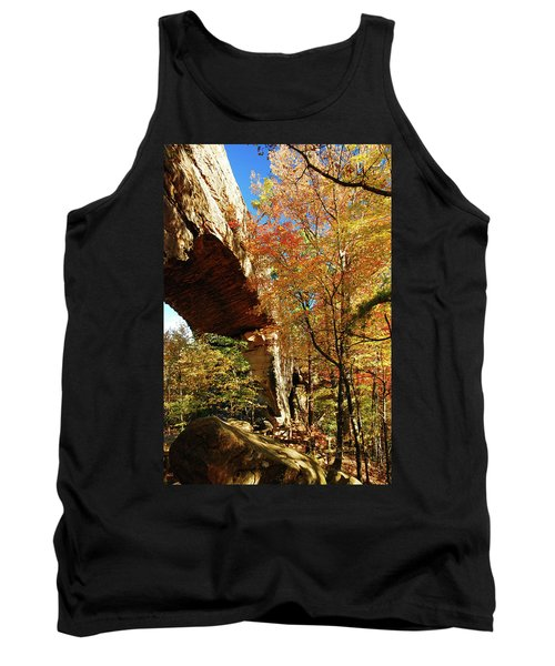 Autumn At Natural Bridge State Resort Tank Top