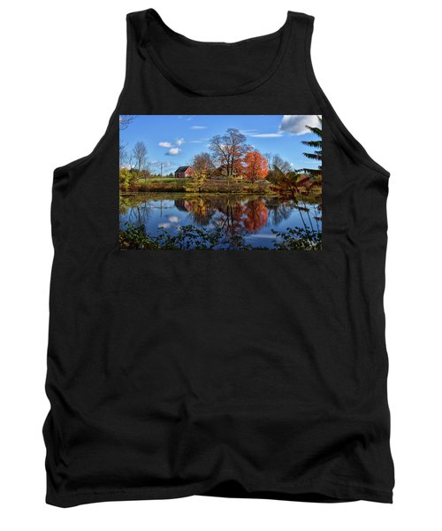 Autumn At The Farm Tank Top by Tricia Marchlik