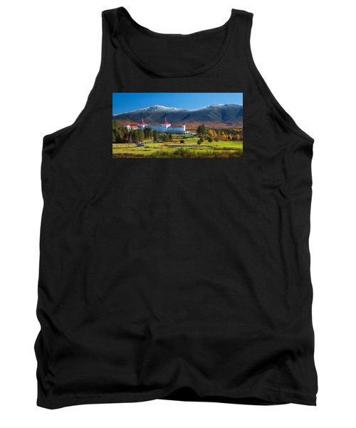 Autumn At The Mount Washington Crop Tank Top