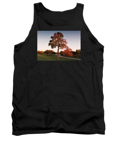 Tank Top featuring the photograph Autumn Beauty by Milena Ilieva
